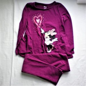 Girls long sleeve tee/pant outfit